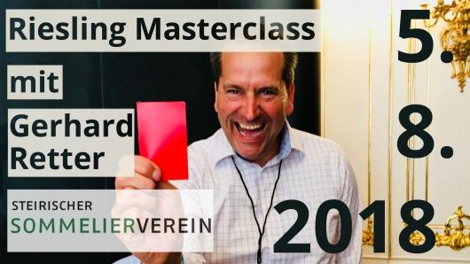Riesling Masterclass mit Gerhard Retter