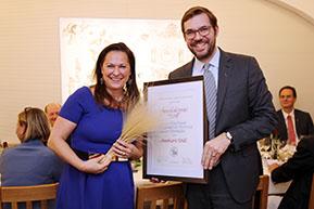 Steinfederpreis der Vinea Wachau für Annemarie Foidl