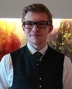 Raphael Bammer – für das Traunviertel beim 4/4 Sommelierbattle!