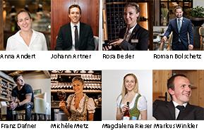 Die Kandidaten beim Österreichischen Sekt-Sommelier-Champion 2019