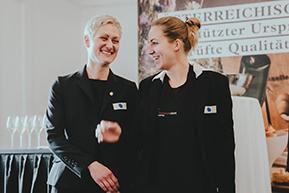 """Anna Andert und Michèle Metz sind """"Österreichischer Sekt-Sommelier-Champion 2019""""!"""