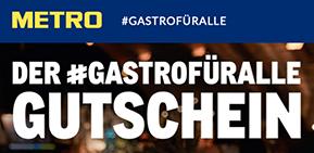Metro #GASTROFÜRALLE Gutschein