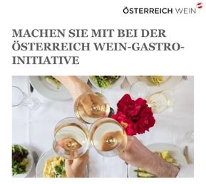 MITMACHEN BEI DER ÖSTERREICH WEIN-GASTRO-INITIATIVE!