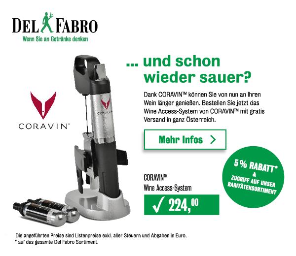 Wine Access-System von CORAVIN