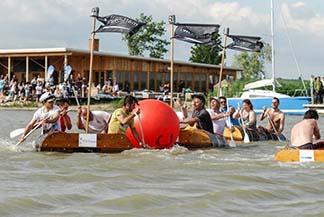 Das war das 6. internationale Barriquefasslbootrennen