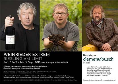 Weinrieder Extrem mit Clemens Busch