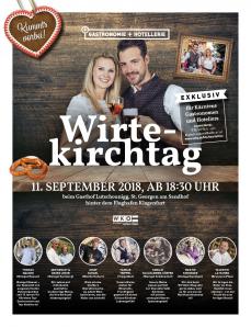Topweinverkostung beim Kärntner Wirte Kirchtag 11.09.18
