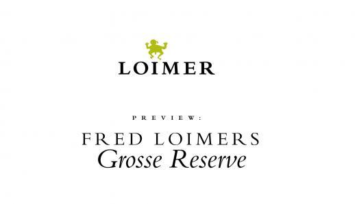 Fred Loimer: Große Reserve Präsentation