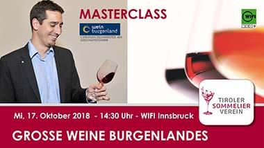 Große Weine Burgenlands