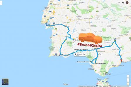 BrunosChoice 2019 - Lissabon bis Jerez
