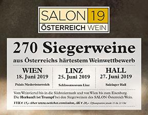 SALON Tournee 2019 macht Halt in Linz