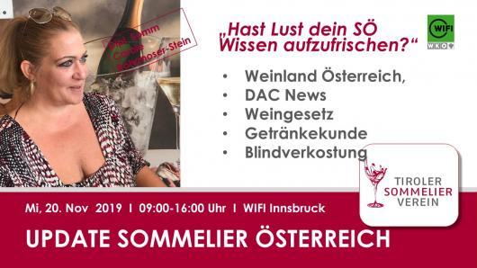 Update Sommelier Österreich