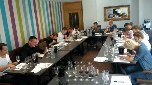 Training mit Andreas Jechsmayr für den Court of Master Advanced Sommelier