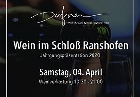 Wein im Schloss Ranshofen 2020