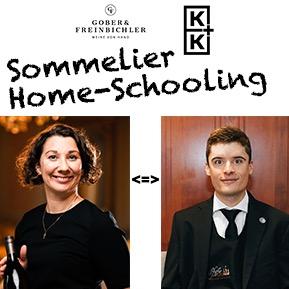 Sommelier Home-Schooling mit Alexandra Rehberger und Mark Kiss