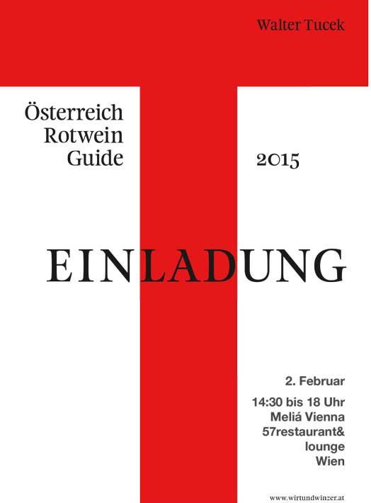 Präsentation: Österreich Rot Wein Guide 2015