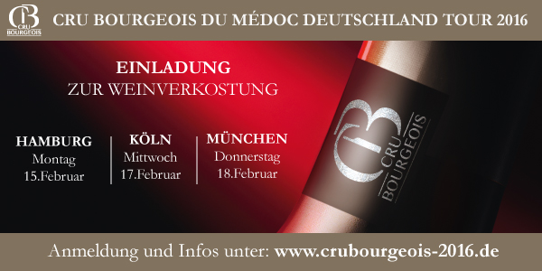 Cru Bourgeois du Médoc – Deutschland Tour